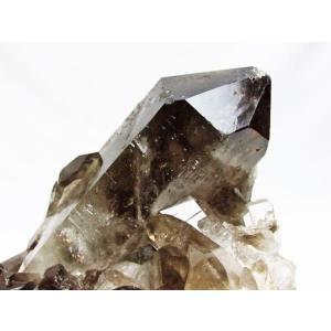 ブラジル産  モリオン 原石 本物  天然 黒水晶 クラスター パワーストーン 天然石 t143-1130|seian|03