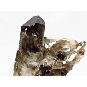 ブラジル産  モリオン 原石 本物  天然 黒水晶 クラスター パワーストーン 天然石 t143-1130|seian|04