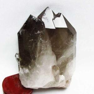 ブラジル産  モリオン 純天然 黒水晶 クラスター t143-1391|seian