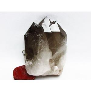 ブラジル産  モリオン 純天然 黒水晶 クラスター t143-1391|seian|02