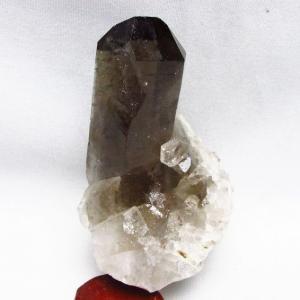 ブラジル産  モリオン 純天然 黒水晶 クラスター t143-1568 seian