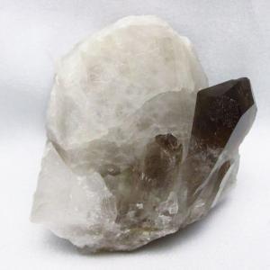 ブラジル産  モリオン 純天然 黒水晶 クラスター t143-1576 seian
