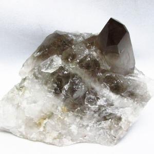 ブラジル産  モリオン 純天然 黒水晶 クラスター t143-1590 seian