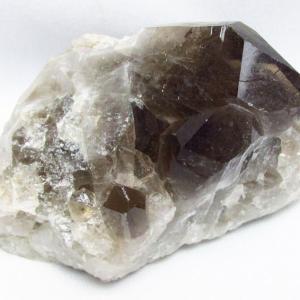 ブラジル産  モリオン 純天然 黒水晶 クラスター t143-1596 seian