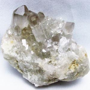 ブラジル産  モリオン 純天然 黒水晶 クラスター t143-1673 seian