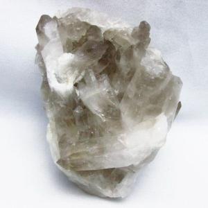 ブラジル産  モリオン 純天然 黒水晶 クラスター t143-1688 seian