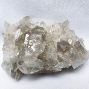 ブラジル産  モリオン 純天然 黒水晶 クラスター t143-1697 seian