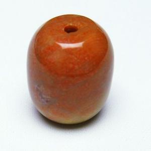 珊瑚 コーラル 円柱形 ビーズ パワーストーン 天然石 t155-1634|seian