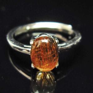 ファイナルグレードルチルクォーツ(金針ルチル水晶) 指輪  t164-4837|seian