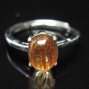 ファイナルグレードルチルクォーツ(金針ルチル水晶) 指輪  t164-4851|seian