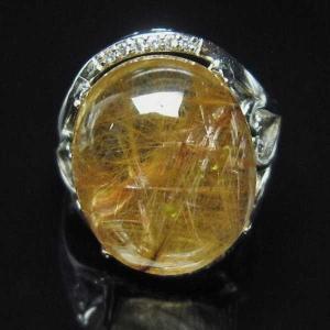 ルチルクォーツ(金針ルチル水晶) 指輪  t164-5131|seian