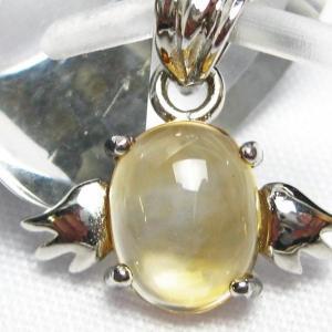 ゴールドメタモルフォーゼス天使 ペンダント  パワーストーン 天然石 t165-924|seian