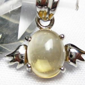 ゴールドメタモルフォーゼス天使 ペンダント  パワーストーン 天然石 t165-926|seian