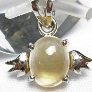 ゴールドメタモルフォーゼス天使 ペンダント  パワーストーン 天然石 t165-928|seian