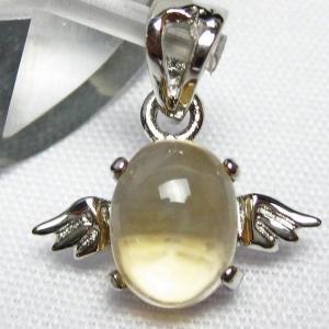 ゴールドメタモルフォーゼス天使 ペンダント  パワーストーン 天然石 t165-931|seian