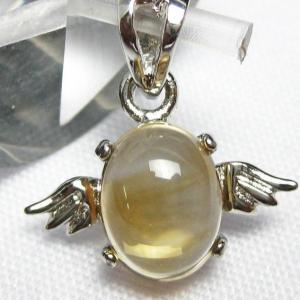 ゴールドメタモルフォーゼス天使 ペンダント  パワーストーン 天然石 t165-932|seian