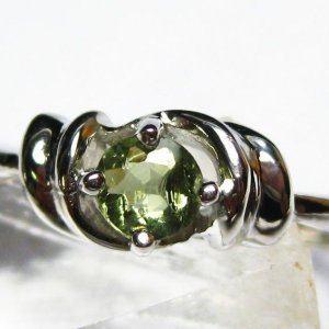 モルダバイト 指輪  t165-985|seian
