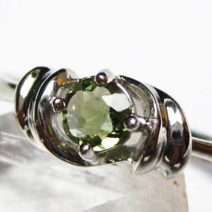 モルダバイト 指輪  t165-986|seian