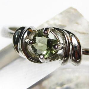 モルダバイト 指輪  t165-987|seian