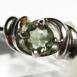 モルダバイト 指輪 (15号) t165-991|seian