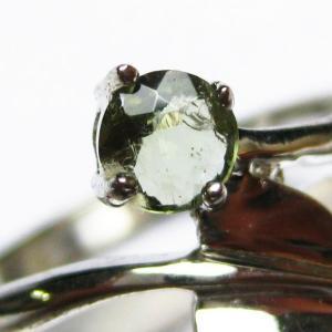モルダバイト 指輪 (13号) t165-994|seian