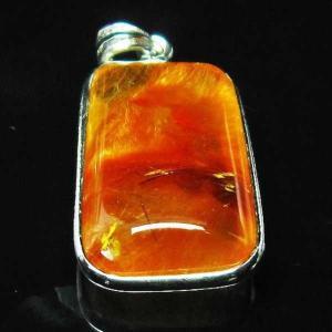 放射赤針タイチンルチル ペンダント  パワーストーン 天然石 t191-844 seian