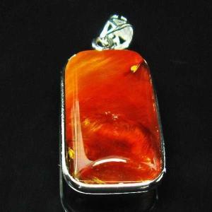放射赤針タイチンルチル ペンダント  パワーストーン 天然石 t191-856 seian