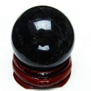 モリオン 純天然 黒水晶  丸玉 29mm  t220-3832|seian