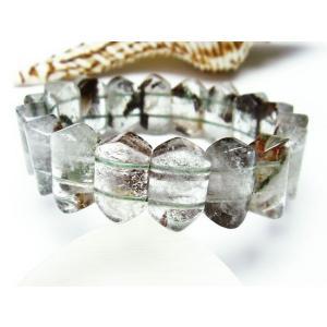ガーデンクォーツ(庭園水晶) バングル  パワーストーン 天然石 t229-3990 seian 02