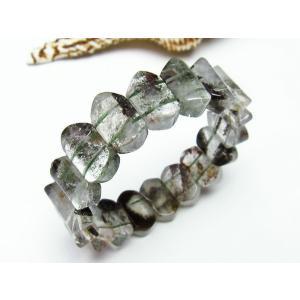 ガーデンクォーツ(庭園水晶) バングル  パワーストーン 天然石 t229-3990 seian 03