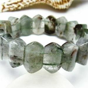 ガーデンクォーツ(庭園水晶) バングル  パワーストーン 天然石 t229-4015|seian
