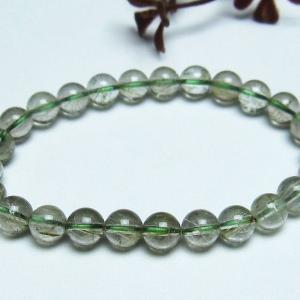 緑タイチンルチル ブレスレット 7mm t270-1732|seian