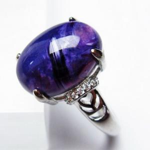 チャロアイト 指輪  t275-16935|seian