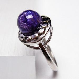 チャロアイト 指輪  t275-17764 seian
