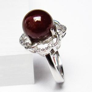 ガーネット 指輪  t275-18139 seian
