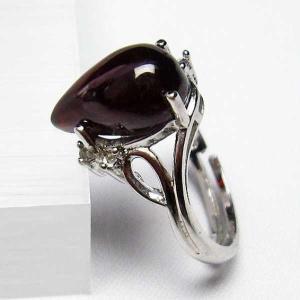 ガーネット 指輪 t275-18141 seian
