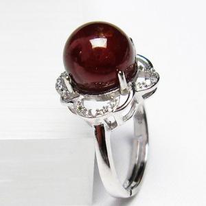ガーネット 指輪 t275-18151 seian