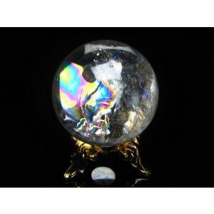 虹入り ヒマラヤ水晶 丸玉 27mm  t294-2716|seian|02