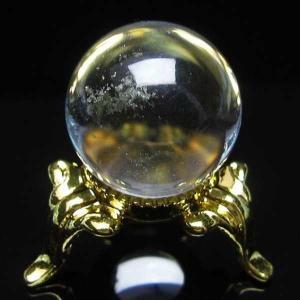 水晶玉 置物 ヒマラヤガーデンクォーツ 庭園水晶 丸玉 20mm パワーストーン 天然石 t294-3013|seian