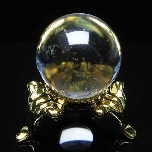 水晶玉 置物 ヒマラヤガーデンクォーツ 庭園水晶 丸玉 20mm パワーストーン 天然石 t294-3017|seian