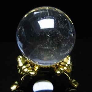 水晶玉 置物 ヒマラヤガーデンクォーツ 庭園水晶 丸玉 24mm パワーストーン 天然石 t294-3057|seian