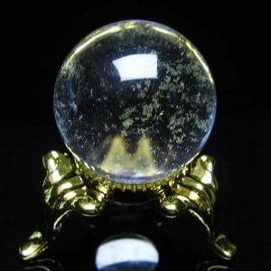 水晶玉 置物 ヒマラヤガーデンクォーツ 庭園水晶 丸玉 21mm パワーストーン 天然石 t294-3071|seian