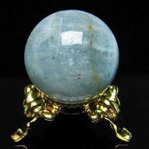 アクアマリン  丸玉 22mm  パワーストーン 天然石 t294-3362|seian