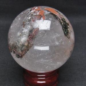 ガーデンクォーツ(庭園水晶) 丸玉 68mm  t296-1192|seian