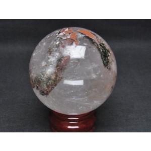 ガーデンクォーツ(庭園水晶) 丸玉 68mm  t296-1192|seian|02