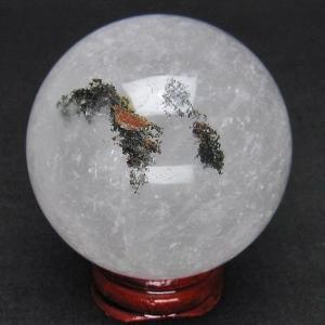 ガーデンクォーツ(庭園水晶) 丸玉 52mm  t296-1240 seian