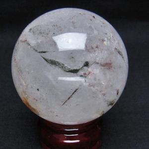 グリーンファントム 丸玉 66mm  パワーストーン 天然石 t296-1257|seian