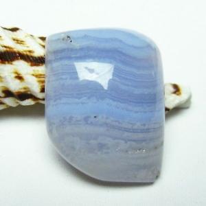 ブルーレースアゲートタンブル パワーストーン 天然石 t314-3314 seian