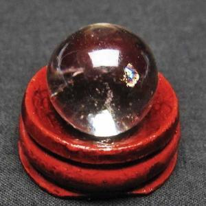 ライトニング水晶 丸玉 19mm  パワーストーン 天然石 t317-2741 seian