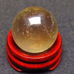 水晶玉 シトリン水晶 丸玉 22mm  t318-2451|seian